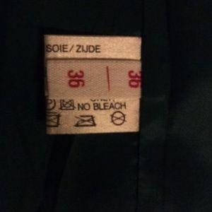 Louis Feraud Dresses - Louis Feraud Vintage Flutter Faux Wrap Dress